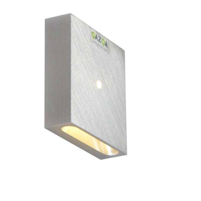 Built-in-Wall-Light-Quartz-Square-I-Aluminium