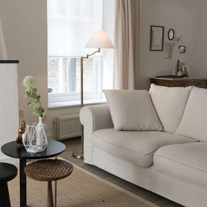 Floor-Lamp-Swing-Bronze-with-White-Shade