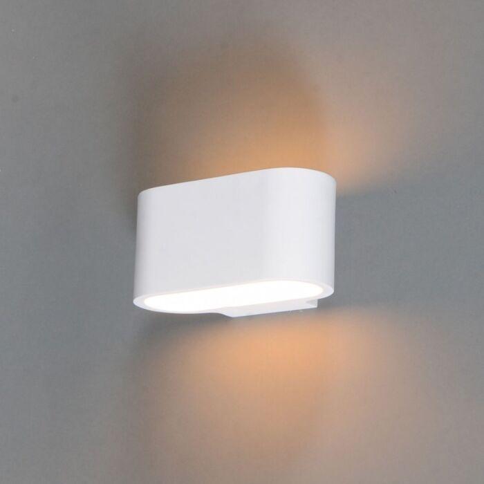 Modern-wall-lamp-white-flat---Gipsy-Arles