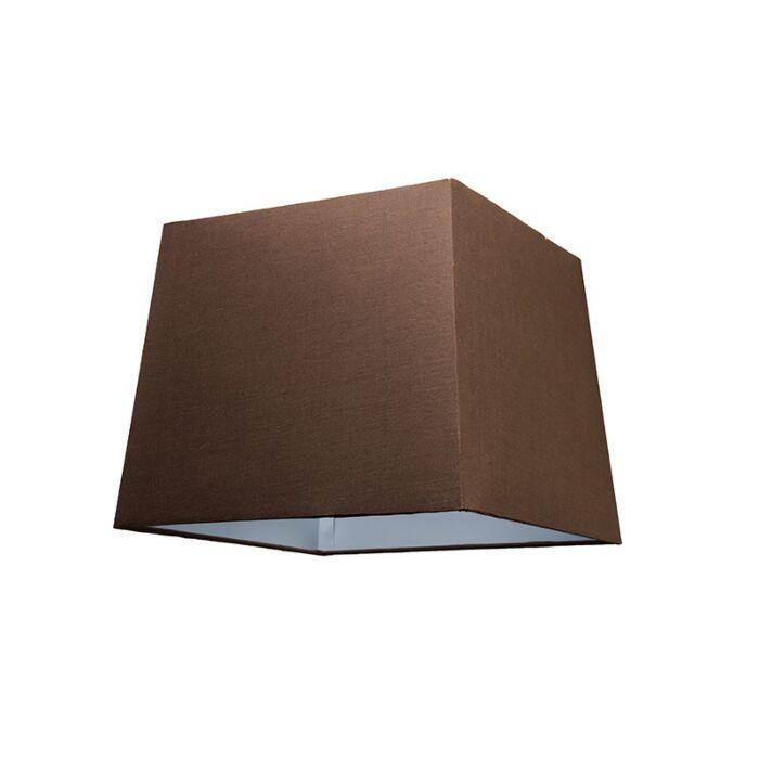 Shade-Square-30cm-SU-E27-Brown