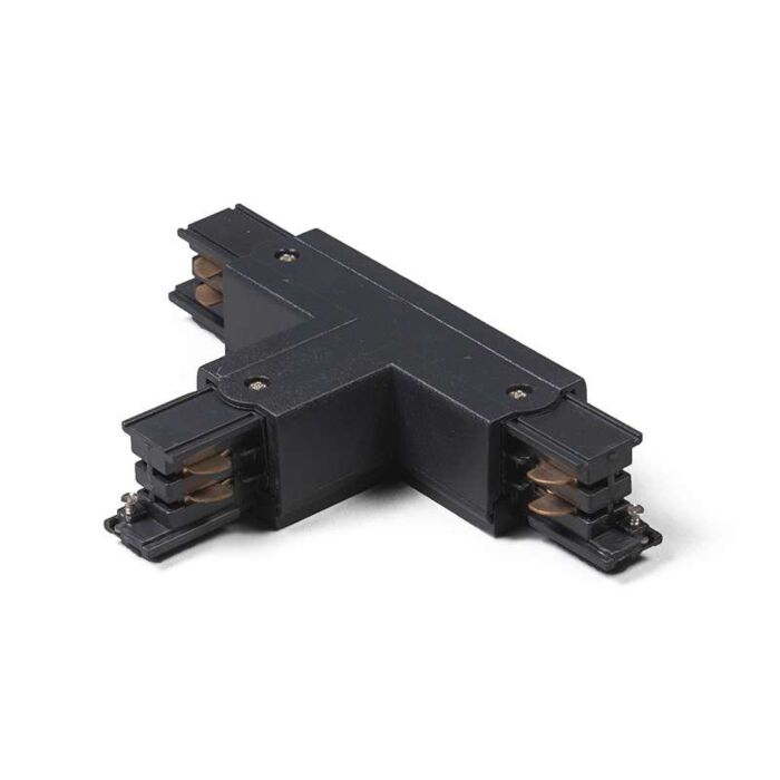 T-Junction-for-3-phase-track-Left-B-Black