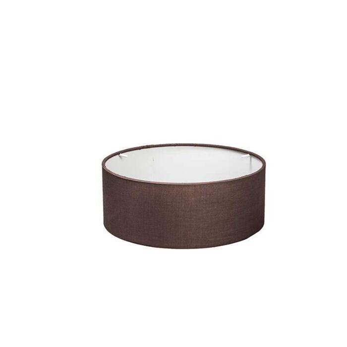 Drum-ceiling-lamp-shade-30/30/11-brown