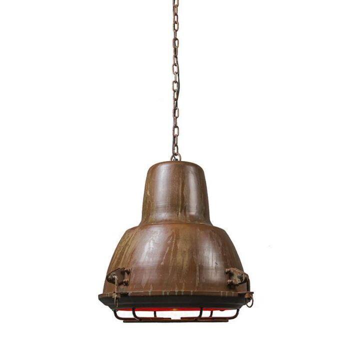 Pendant-Lamp-II-Petrol-Rust
