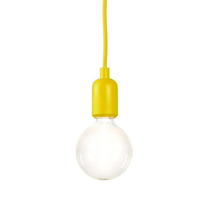 Pendant-Lamp-Cava-Yellow