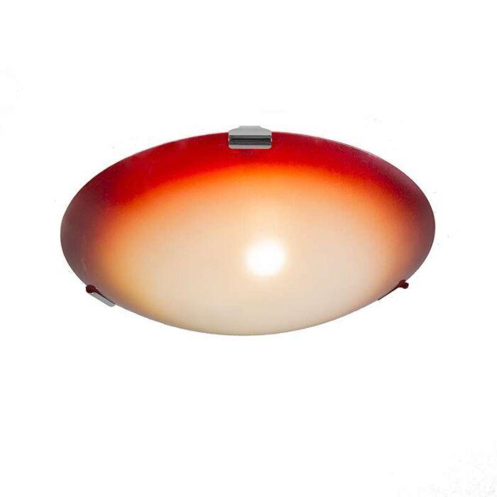 Ceiling-light-Philipp-30-yellow-with-orange