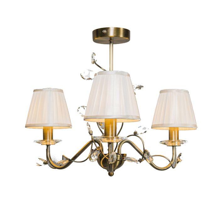 Ceiling-Lamp-Ruffle-3-Antique-Bronze