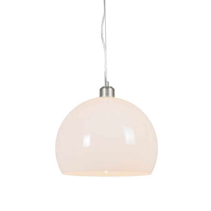 Modern-Pendant-Lamp-with-Opal-Shade---Globe