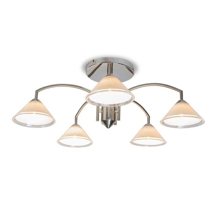 Ceiling-lamp-Arana-5-steel