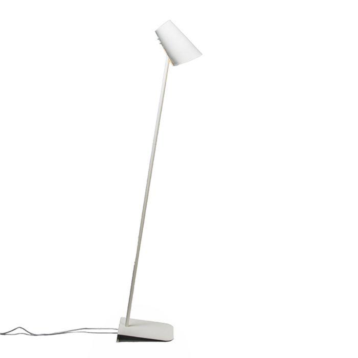 Floor-Lamp-Straight-White