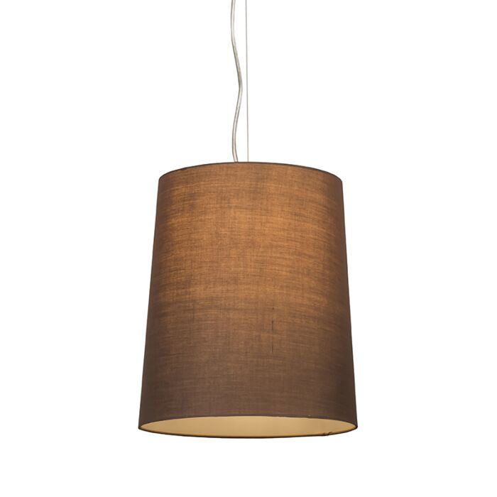 Pendant-lamp-Cappo-1-with-Brown-Shade