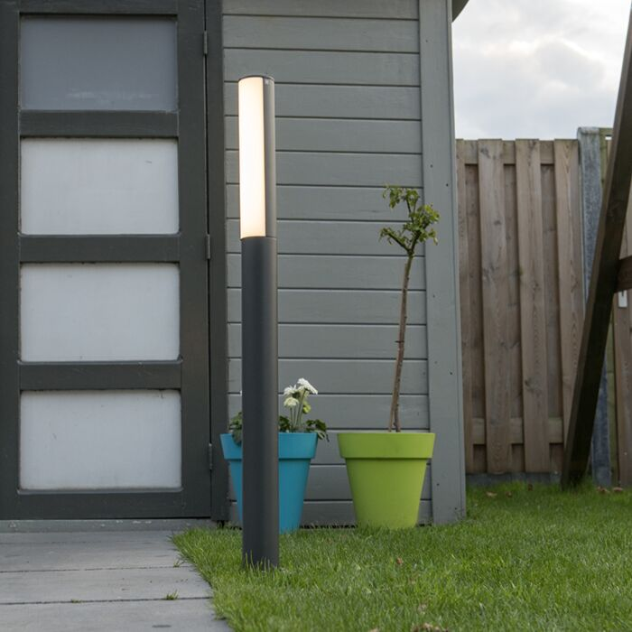 Outdoor-Column-P90-LED-Dark-Grey