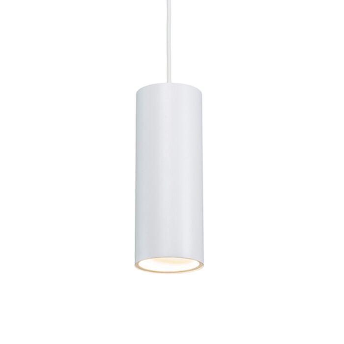 Modern-Pendant-Lamp-White---Tubo