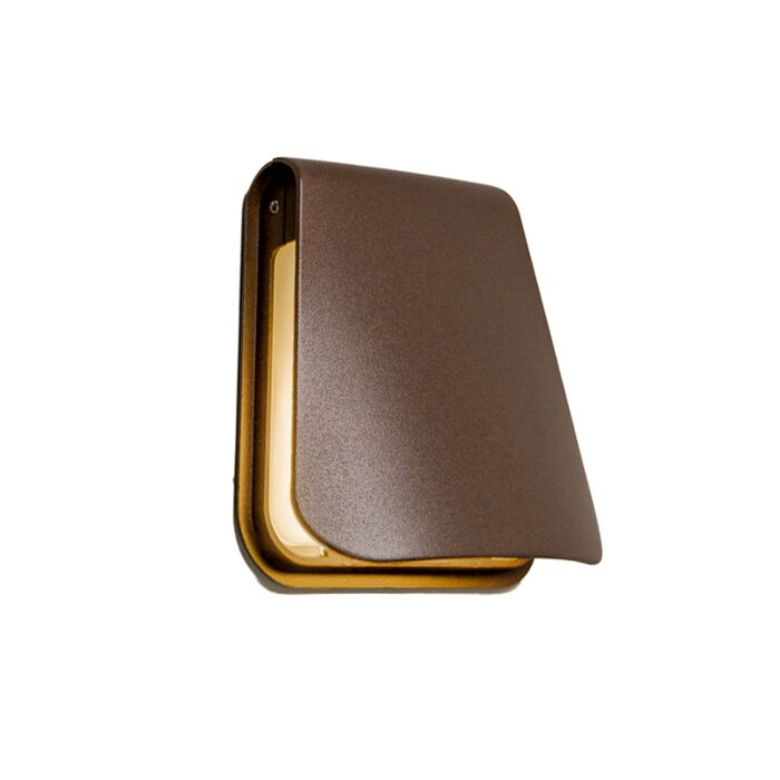 Wall-Lamp-Cover-LED-Rust-Brown