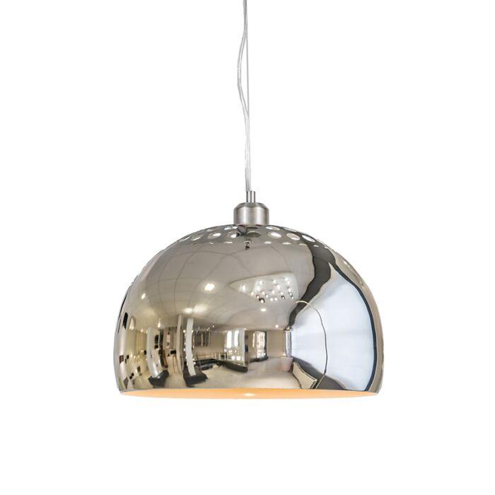 Pendant-Lamp-Globe-33cm-Chrome