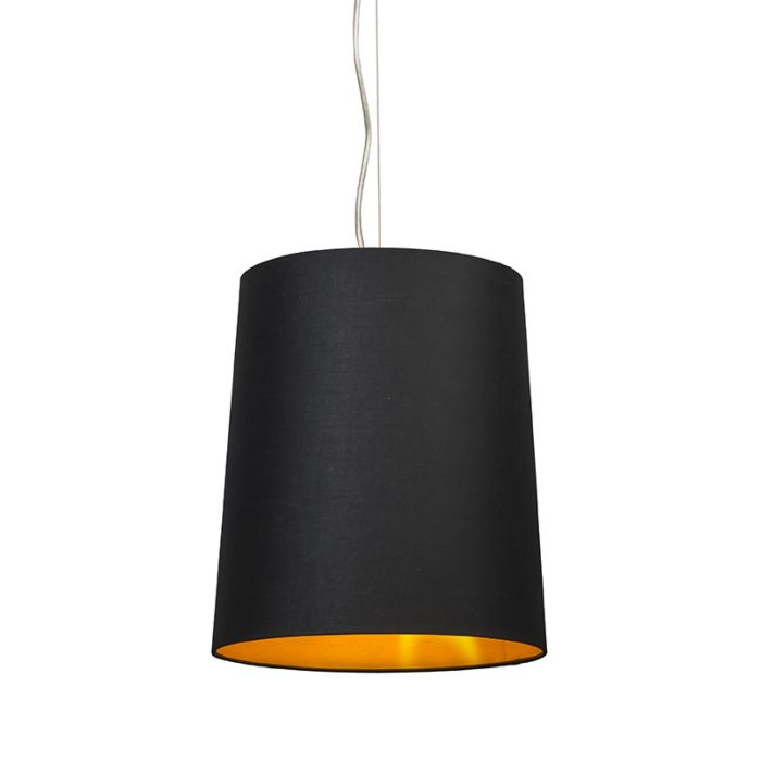 Pendant-lamp-Cappo-1-with-Black-Gold-Shade
