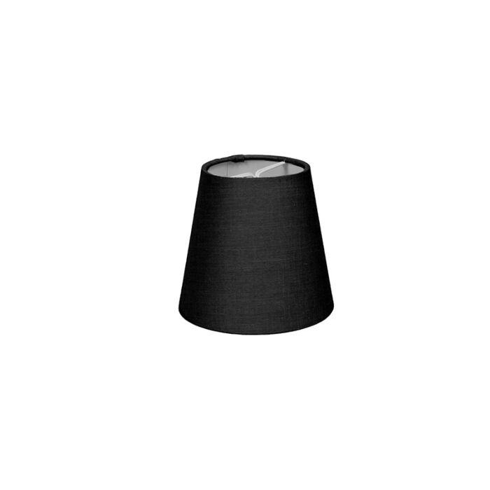 Clamp-Shade-Round-12cm-SC-Black