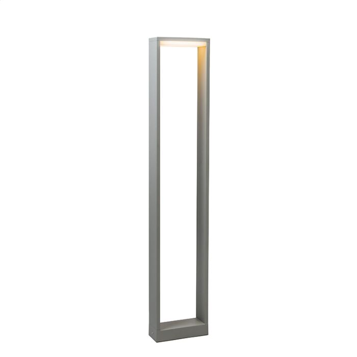 Outdoor-Lamp-Frame-LED-80-Silver