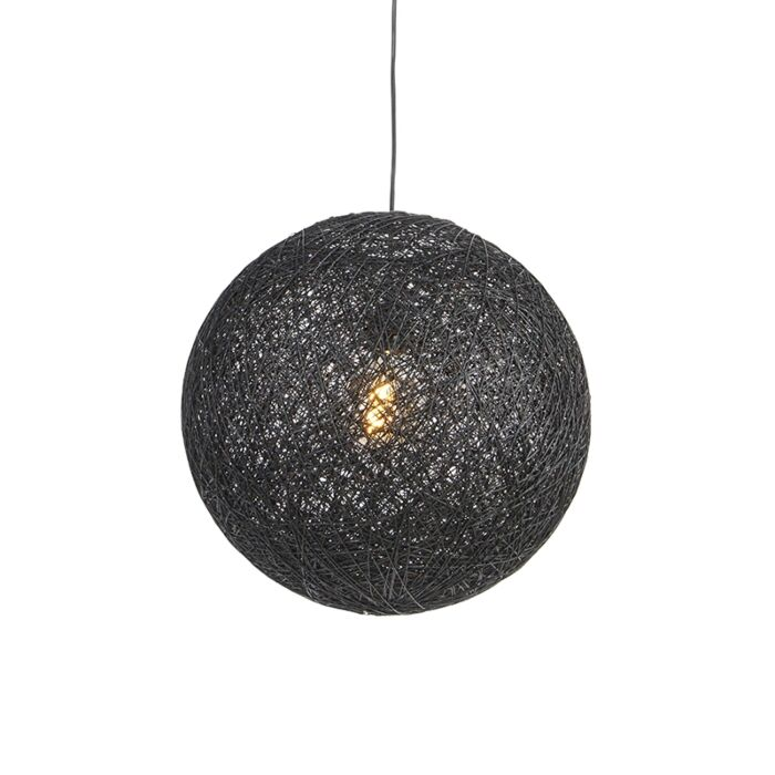 Pendant-Lamp-black-45-cm---Corda