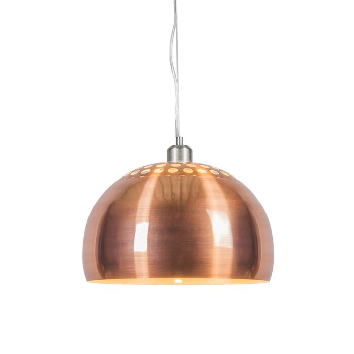 Pendant-Lamp-Globe-33cm-Matt-Copper