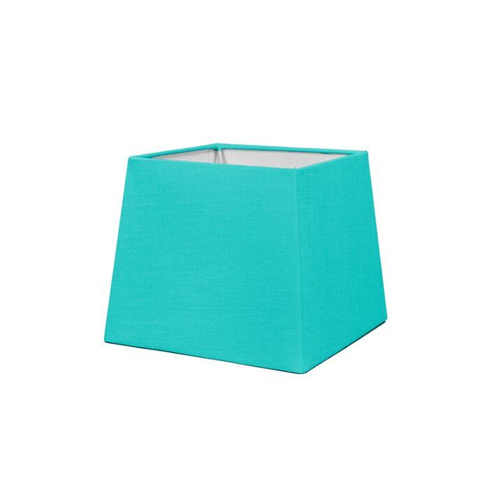 Shade-Square-18cm-SD-E27-Turquoise