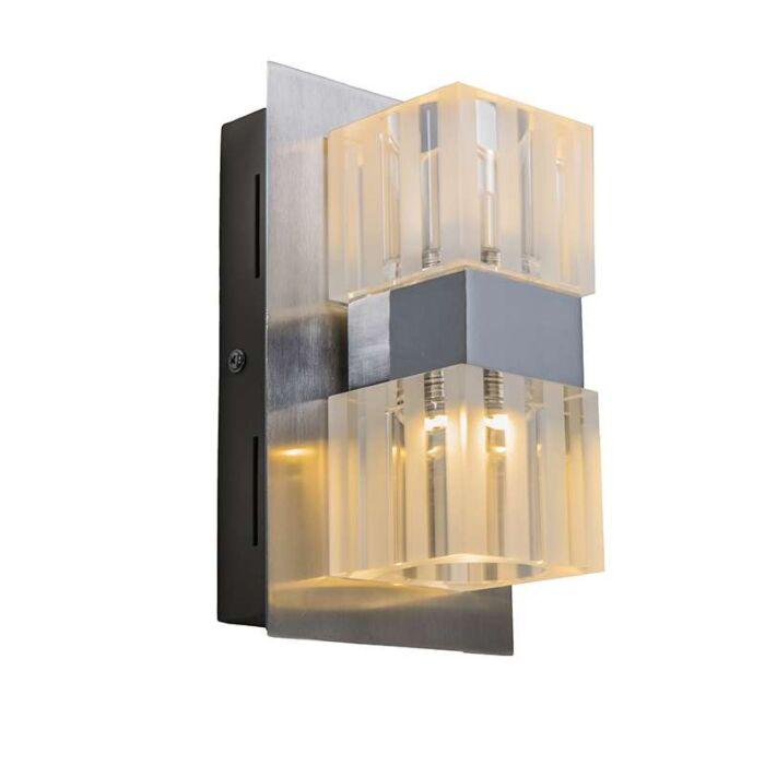LED-Wall-Lamp-Dice-2-Chrome