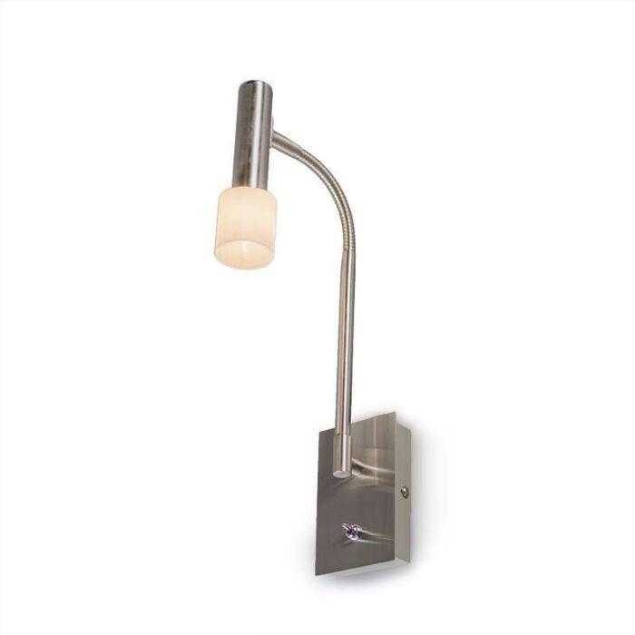 Capri-Flex-Steel-wall-lamp