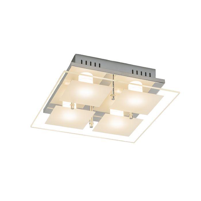 Ceiling-Quadrate-4-Chrome
