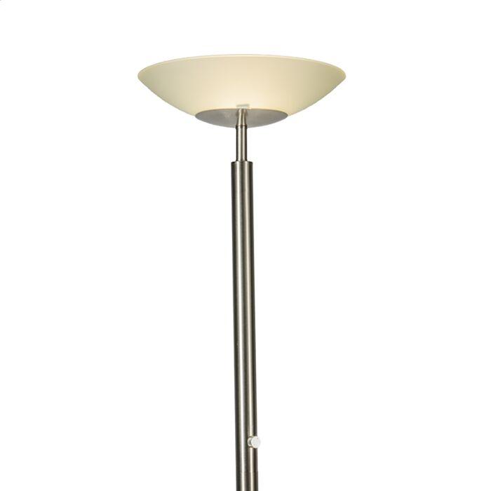 Floor-Lamp-Uplighter-Pisa-Steel