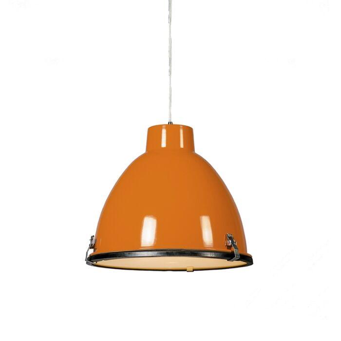 Anteros-38-Pendant-light-in-Orange