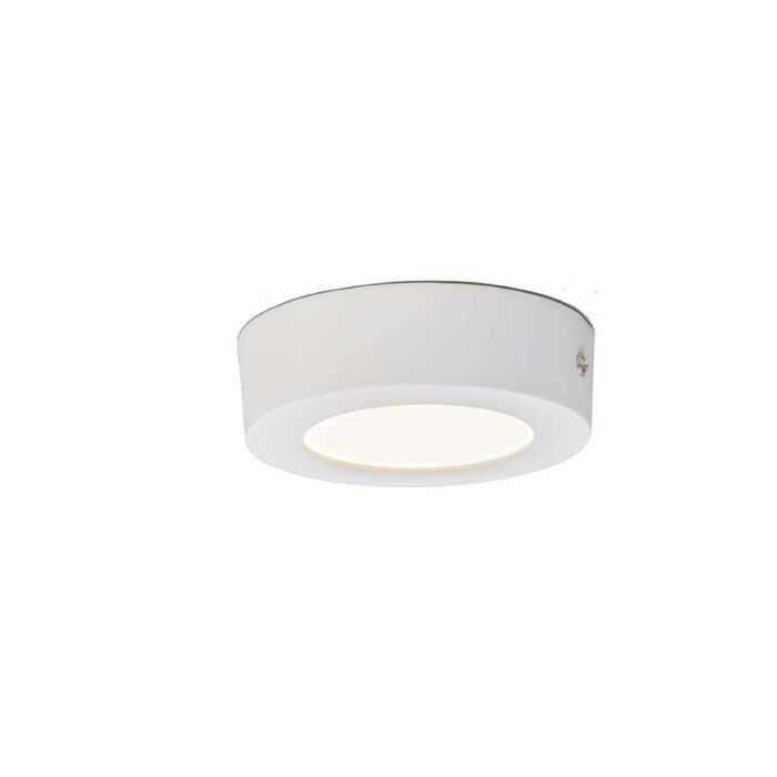Ceiling-Plate-6W-LED-Round-White