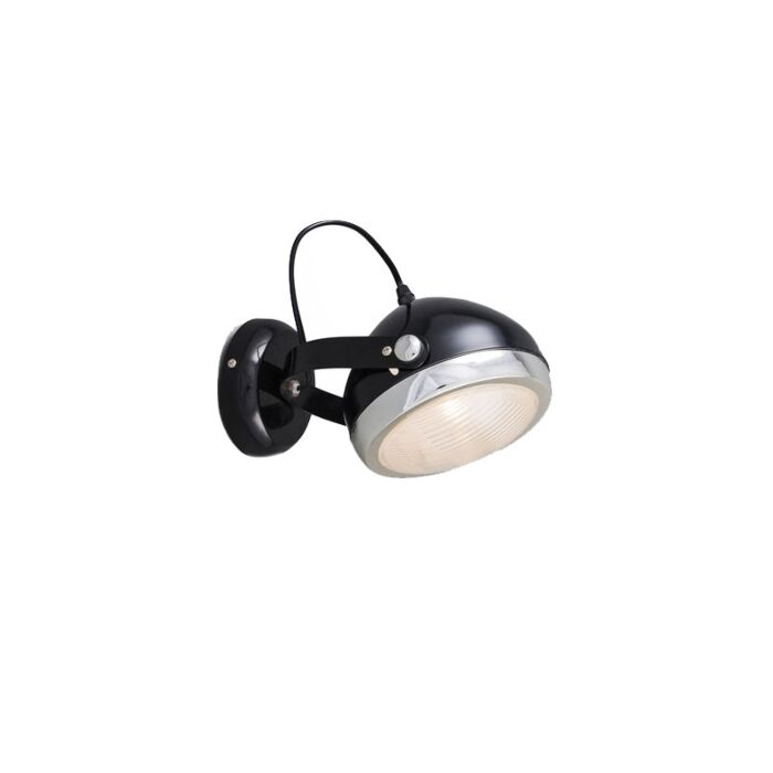 Wall-and-ceiling-spotlight-black-rotatable-and-tiltable---Biker-1