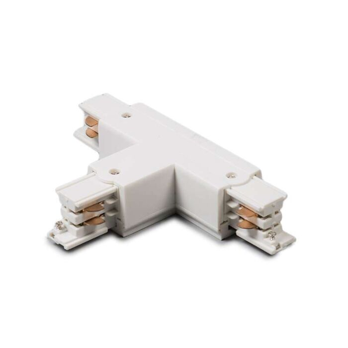 T-Junction-for-3-phase-track-left-White-T