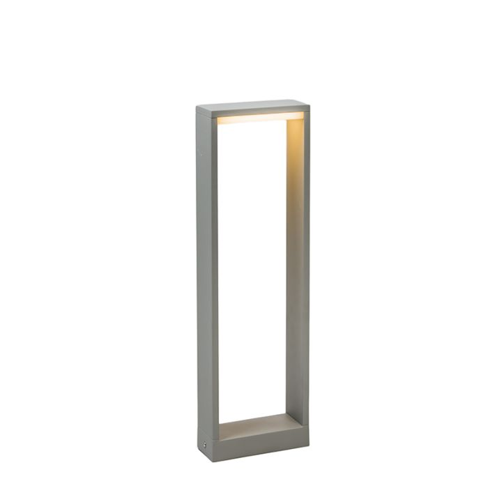 Outdoor-Lamp-Frame-LED-50-Silver