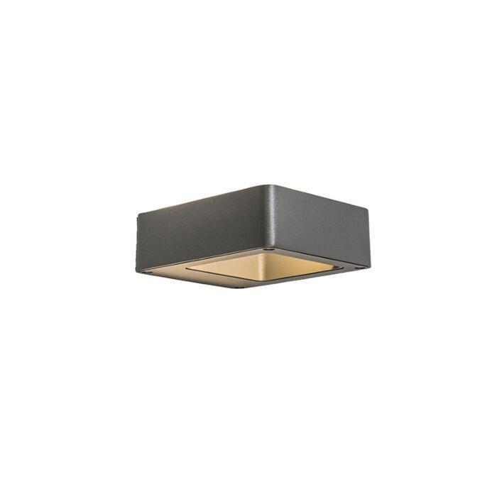 Wall-Lamp-Hollow-LED-Dark-Grey