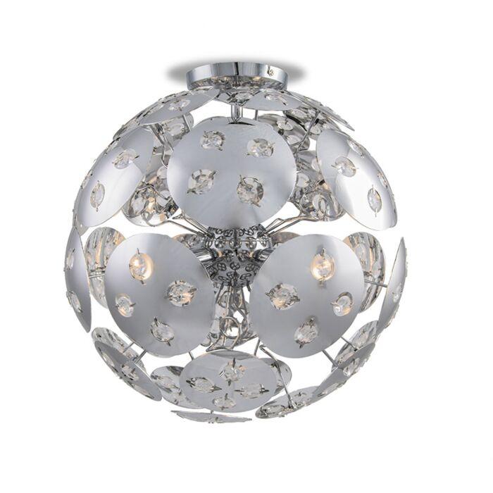 Ceiling-lamp-Planet-chrome