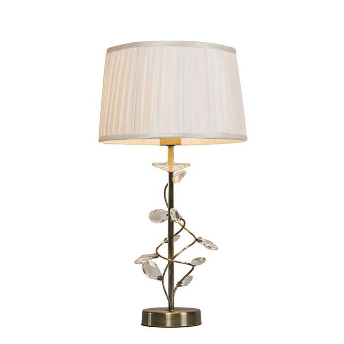 Table-Lamp-Ruffle-Antique-Bronze