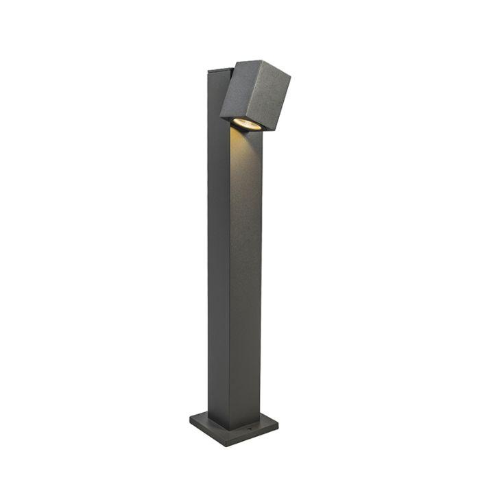 Outdoor-Pole-Baleno-Adjustable-65cm-Dark-Grey