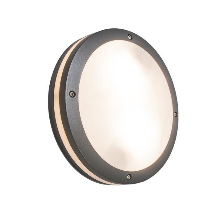 Wall-and-ceiling-light-anthracite-IP54---Glow
