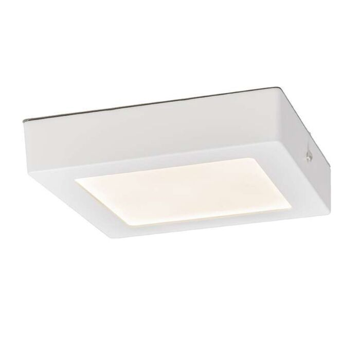 Ceiling-Plate-12W-LED-Square-White