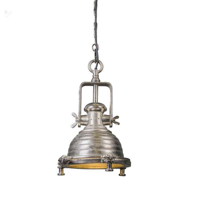 Pendant-Lamp-Fort-Raw-S-Nickel