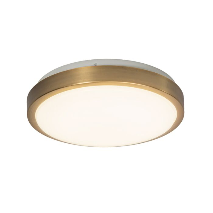 Ceiling-Lamp-12W-LED-Avant-Matte-Gold