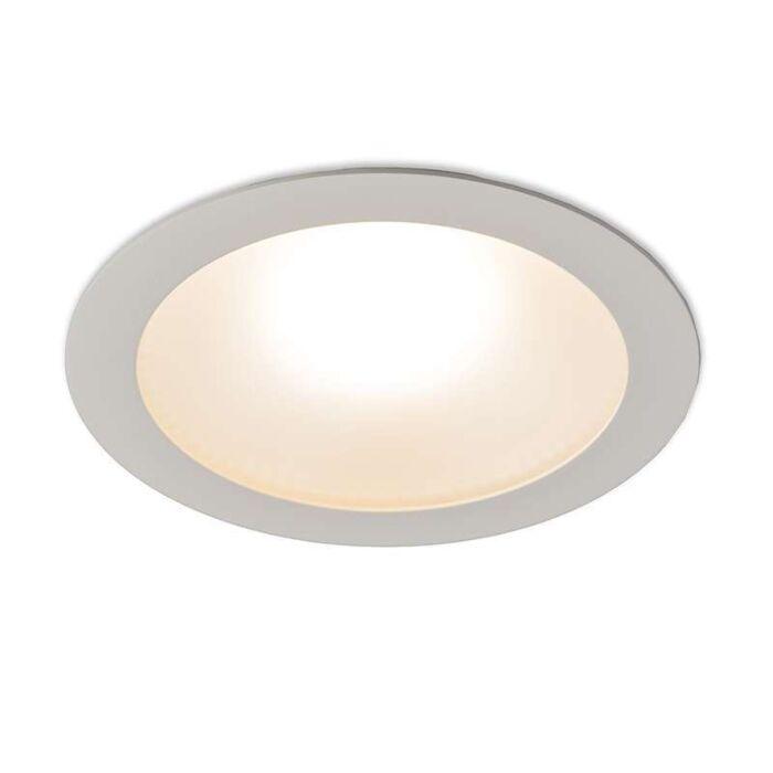 Modern-Recessed-Spotlight-White-incl.-20W-LED---Invaser