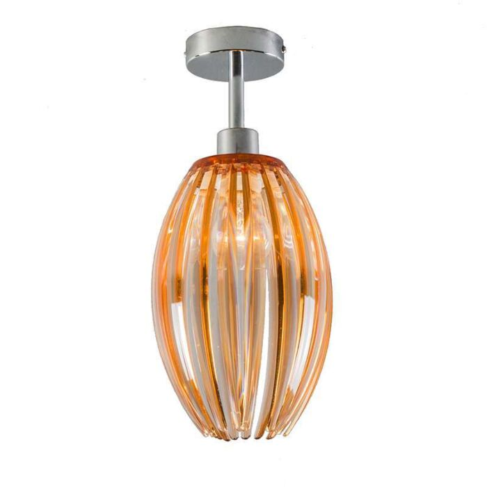 Ceiling-Lamp-Jarno-chrome-with-amber