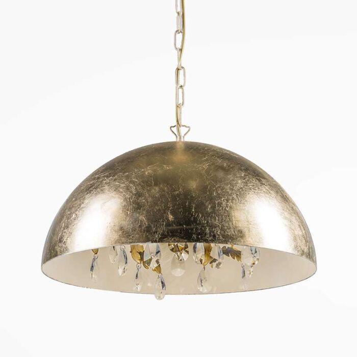 Magna-Deluxe-gold-leaf-pendant-light-60