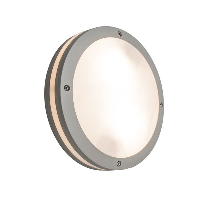 Ceiling/Wall-Lamp-Glow-Round-Light-Grey