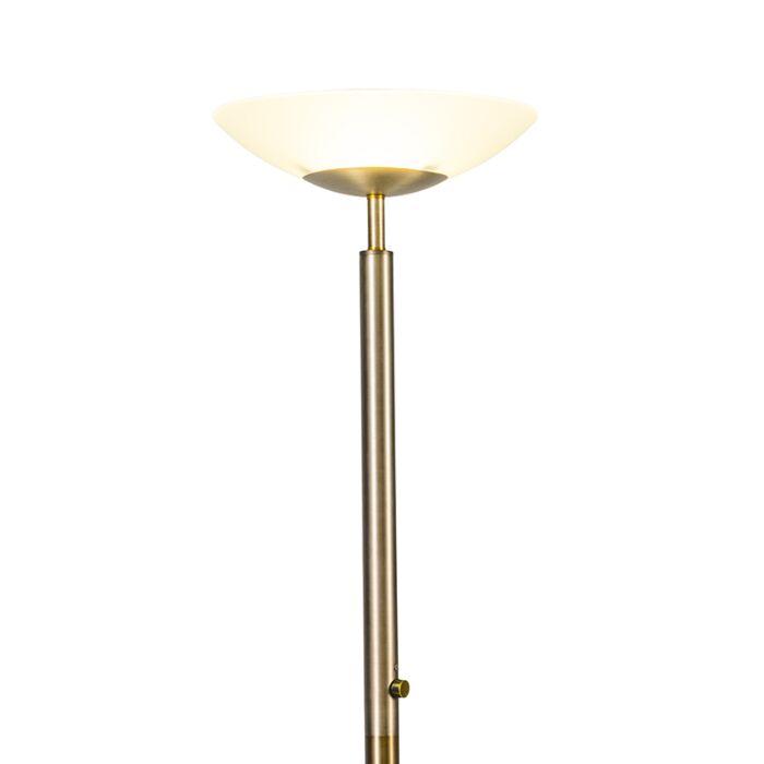 Floor-Lamp-Uplighter-Pisa-Bronze