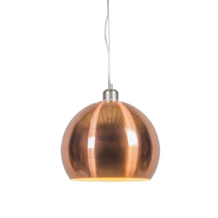 Pendant-Lamp-Globe-28cm-Matt-Copper