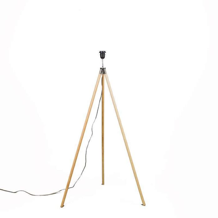 Floor-Lamp-Timber-Treppiede-without-Shade