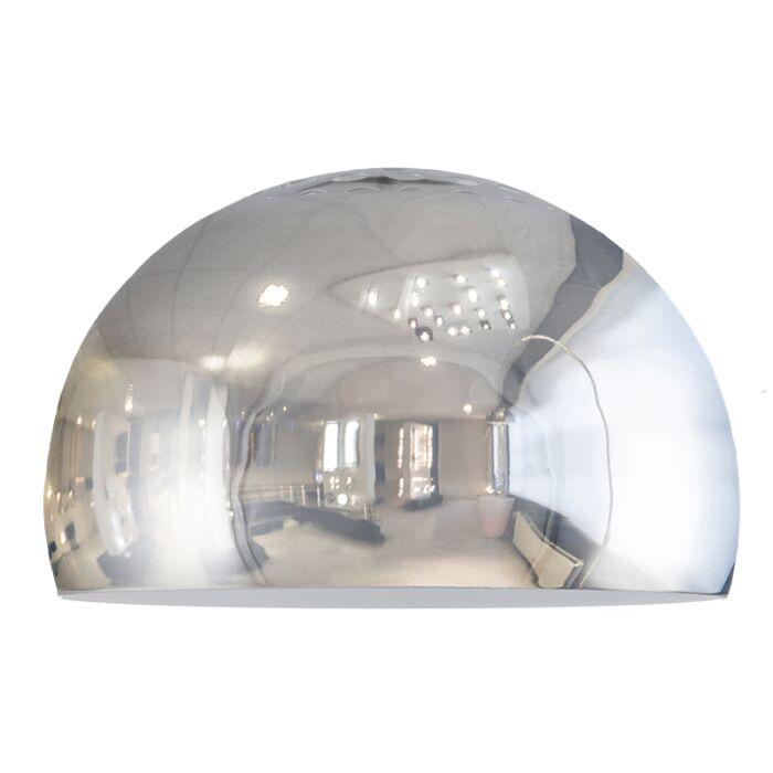 Shade-Globe-33cm-Chrome