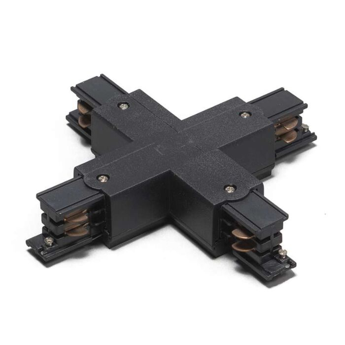 X-junction-for-3-phase-track-black